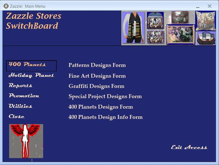 Make Your Own Ms Access Switchboard With The Tab Control 400 Planets Personalized Gifts
